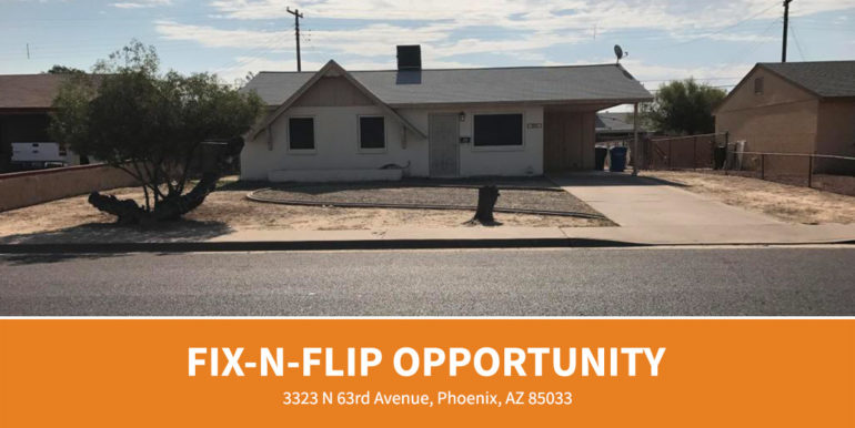 Wholesale Ad - 3323 N 63rd Avenue